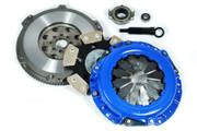 FX Stage 4 Clutch Kit & Chromoly Flywheel for Prizm Vibe Celica Corolla Matrix MR2 1.8L 5Speed