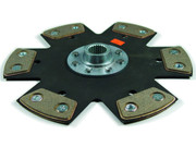 F1 Ceramic 6-Puck Rigid Clutch Disc Audi A4 Afc Aha A6 Quattro VW Passat 2.8L V6
