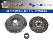 Genuine Sachs OEM Clutch Kit 95-01 Audi A6 A4 &amp; Quattro 98-05 VW Passat 2.8L V6