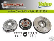 Valeo OE Clutch Kit and Solid Flywheel 2002-05 Mini Cooper S 1.6L Supercharged 6Spd