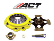 ACT 4 Pad Solid Race Clutch Kit 92-05 Honda Civic 93-95 Del Sol D15 D16 D17 SOHC