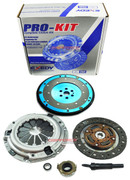 EXEDY CLUTCH PRO-KIT +RACING ALUMINUM FLYWHEEL 2001-05 HONDA CIVIC 1.7L SOHC D17