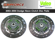 Genuine Valeo OE OEM Clutch Disc Plate 2003-2005 Dodge Neon Srt-4 Turbo 2.4L I4
