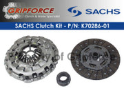 Genuine Sachs OE Clutch Kit Set Audi A6 Quattro Allroad Quattro S4 2.7L Bi-Turbo