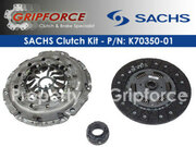 Sachs OEM Clutch Kit 2002-2003 Audi A4 2002-2005 A4 Quattro 3.0L V6 DOHC 6-Speed