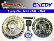 Exedy OE Clutch Kit and Slave Cyl 2000-04 Ford Focus S2 SE ZTS Ztw ZX3 ZX5 2.0L DOHC