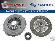 "Sachs OEM 8-5/8"" Disc Clutch Kit VW Beetle Golf Jetta Tdi 1.9L Turbo Diesel Mk4"
