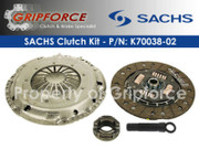 Genuine Sachs OEM Clutch Kit VW Corrado Golf Jetta Passat 2.8L SOHC VR6 12-Valve