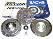 Sachs Clutch Kit and Fidanza Flywheel VW Corrado Golf Jetta Passat 2.8L SOHC VR6 12V