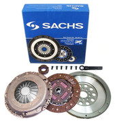 Sachs OEM Clutch Kit and FX Racing Flywheel Golf Jetta Passat 2.8L SOHC VR6 12-Valve