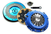 F1 Kevlar Clutch Kit  and  Aluminum Flywheel Honda Accord Prelude Acura Cl 2.2L 2.3L
