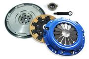 FX Kevlar Clutch Kit & HD Nodular Flywheel Set for Acura CL Honda Accord Prelude 2.2L 2.3L