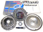 Exedy OEM Clutch Kit and Fidanza Flywheel 92-01 Honda Prelude 2.2L 2.3L F22 F23 H22