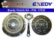 Exedy Genuine OE OEM Clutch Pro-Kit Set 1987-1993 Volkswagen VW Fox 1.8L SOHC I4