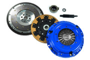 FX Racing Kevlar Clutch Kit and Fidanza Flywheel JDM 93-95 Civic Coupe 1.6L B16 VTEC