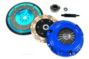 F1 Racing Multi Friction Clutch Kit  and Aluminum Flywheel 93-95 Civic JDM 1.6L DOHC