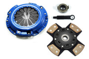 FX Racing 4-Puck Stage 3 Clutch Kit Acura CL Honda Accord Prelude 2.2L 2.3L
