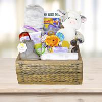 Unisex Baby Gift Basket