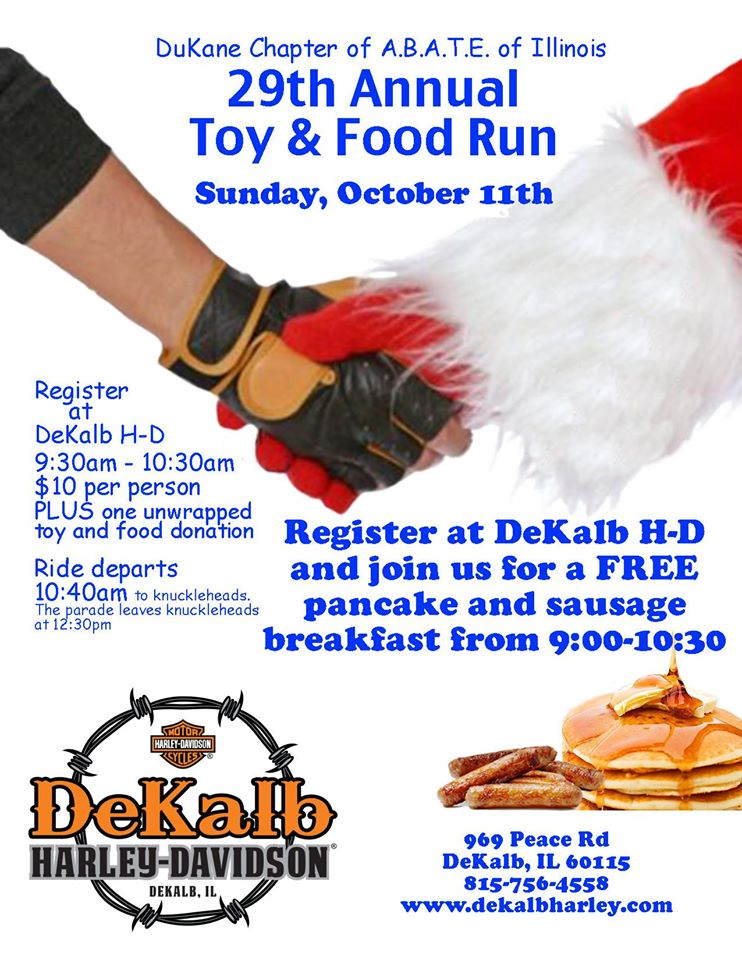 DuKane 29th Annual Toy & Food Run