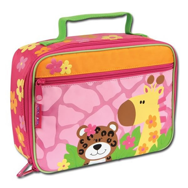Stephen Joseph Pink Zoo Lunch Box - Childrens Lunch Boxes