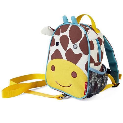 Giraffe Skip Hop Zoo-let Mini Backpack with Rein