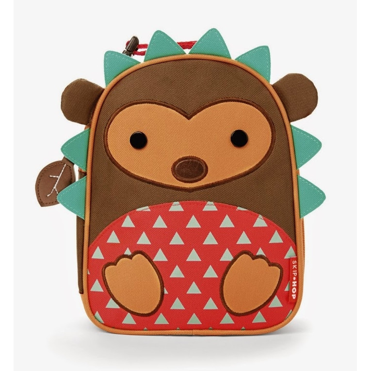 Skip Hop Hedgehog Zoo Lunchie Front