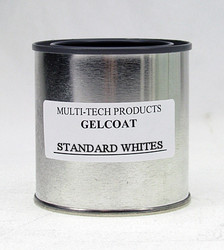 Gelcoat Resin - Standard Whites