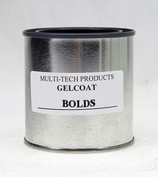 Gelcoat Resin - Standard Bolds