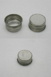 Cone Top Metal Screw Can Lids (Beta 1 1/8 inch)