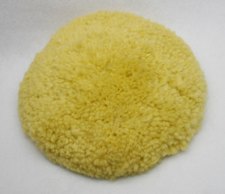 Yellow polishing pad