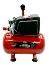 .9 CFM Compressor Motor Plus Tank 1 cfm