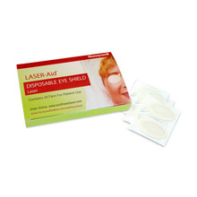 Honeywell Laser-Aid Disposable Eyeshields - 24pr / pack