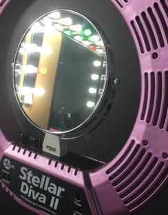 "Stellar ROUND Mirror for 18"" Diva Ring Light II"