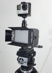 Stellar LED Light Block Kit: STL-180MAX + GoPro Mount