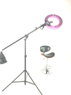 LED Diva Ring light  + Boom Stand