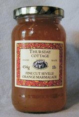 Thursday Cottage Marmalade Fine Cut Seville 454g jar