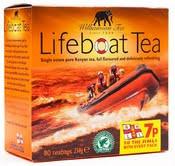 Lifeboat strong british Tea