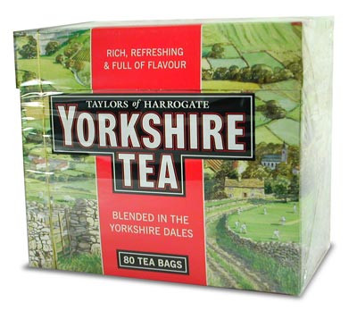 Taylors of Harrogate 80s tea bags