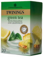 Twinings Green Tea Pineapple & Grapefruit 20 tea bags