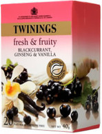 Twinings Blackcurrant, Ginseng & Vanilla 20 tea bags