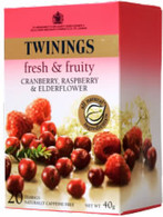 Twinings Cranberry, Raspberry & Elderflower 20 tea bags