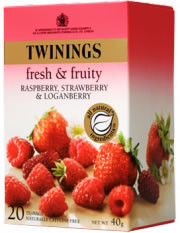 Twinings Infusion Raspberry Strawberry & Loganberry 20 tea bags