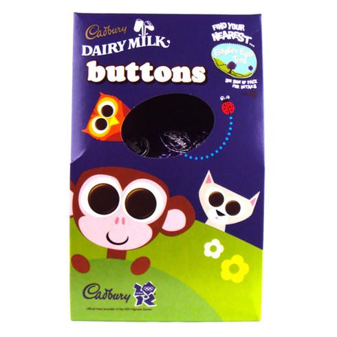 cadbury buttons easter egg