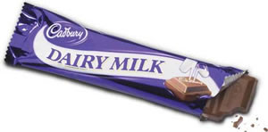 Dairy Milk Chocolate bar from Rather Jolly Tea