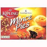 Mr Kipling 6 Minced Pies 355g
