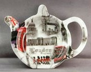 London Scene Tea Bag tidy Holder