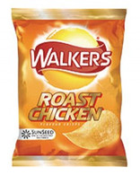 Roast chicken crisps by walkers
