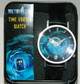 boxed quartz watch with tardis