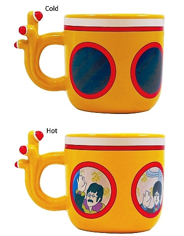 yellow submarine mug
