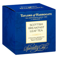 Taylors of Harrogate Scottish Breakfast Leaf Tea Carton, 4.4 Oz